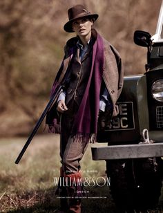 Ladies roseberry suit w logo  William and Son  My winter look Country Wear, Country Women, Country Fashion, Country Outfits, Country Chic, British Country, English Country Style, British Style, Farm Clothes