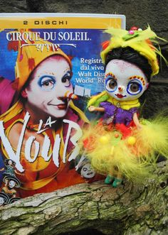 My Green Bird inspired by Cirque du Soleil La Nouba