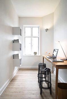 Small studio.