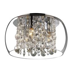 5295 5CC Hampton 5 Light Crystal Chandelier | Crystal