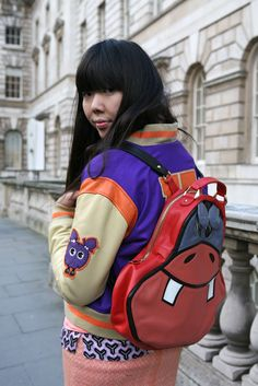 They Are Wearing: London Fashion Week F/W 2013 #susie bubble