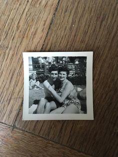 Items similar to Vintage Photo, Beach Hugs, 019 on Etsy