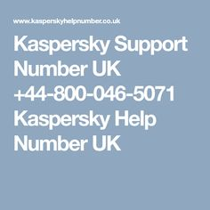 Kasperskey anti-virus is the perfect cyber security tool in use but while using it users often get into some technical errors to settle those connect Security Tools, Numbers, Free