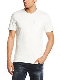 Homme 2 Pack Tank T-shirt Manches Courtes, Noir, XX-LargeLevi's