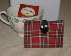 On The Go Tea Wallet by AStitchinTime72 on Etsy, $8.00