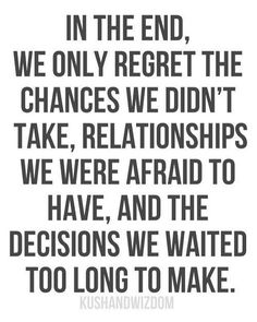 I have seen this first hand far too many times. This is one of the reasons why I am who I am today. I have been by the bedside of those who were passing on and they all had these same regrets. Live your life! Tomorrow is not guaranteed to anyone and we take this for granted. Embrace your fears and overcome them. Live for today but don't be reckless. Love like it's your last chance and do something that makes your brain sparkle everyday.  #namasté #zen #truth #inspirational #inspired…