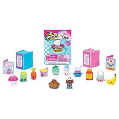 The Shopkins Chef Club 12 Pack Features:Come over to the cutest kitchen in town and see what's cooking at the Chef's Club! This season each Shopkin(TM) is an ingredient . Shopkins List, Shopkins Chef Club, Shopkins Game, Shopkins Season 6, Online Craft Store, Craft Stores, Shopkins Happy Places, Cool Toys, Livres