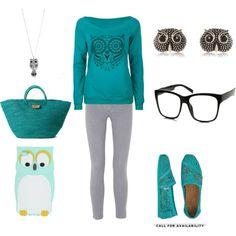 """""""owl outfit"""" by jenna-bo-benna on Polyvore"""