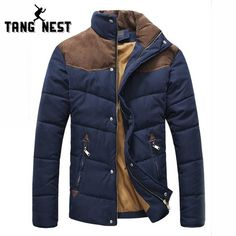Cheap men winter jacket, Buy Quality winter jacket men directly from China winter jacket men coat Suppliers: 2017 New Arrival Mens Winter Jackets Men Coat Collar Stitching Faux Suede Cotton-padded Parka Anorak Cheap Clothes Style Masculin, Style Casual, Men Casual, Style Men, Casual Styles, Denim Style, Moda Fitness, Padded Jacket, Leather Jacket