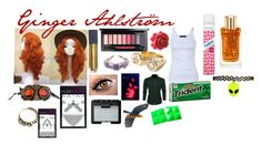 """Ginger Ahlstrom"" by thepinkandpurplerainbow ❤ liked on Polyvore featuring claire's, MAC Cosmetics, Bite, Pamela Love, Huda Beauty, NARS Cosmetics, Tusnelda Bloch, Lancôme and Batiste"