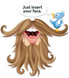 Neo Mamis: Twitter Beard
