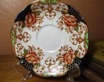Vintage Bell China Saucer - Imari Style