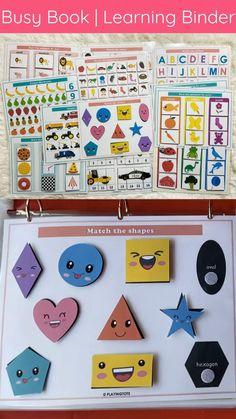 Baby Learning Activities, Early Childhood Activities, Kindergarten Learning, Infant Activities, Preschool Activities, Activity Books For Toddlers, Activities For Kids, Alphabet For Toddlers, Preschool Rooms