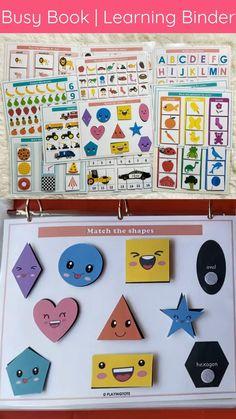 Baby Learning Activities, Early Childhood Activities, Kindergarten Learning, Infant Activities, Teaching, Preschool Activities, Activity Books For Toddlers, Preschool Rooms, Alphabet Activities