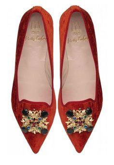 Zapatos para Navidad y Año Nuevo: slippers Pretty Loafers