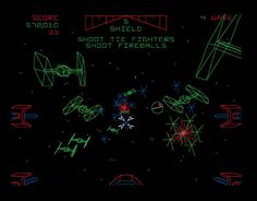 Remember the Star Wars arcade game from the If you're like me, you pumped many quarters into that machine. Now you can get this sweet Star Wars Arcade T Bartop Arcade, Vintage Video Games, Retro Arcade, Star Wars Day, Tie Fighter, Star Wars Tshirt, Death Star, Arcade Games, Geek Stuff