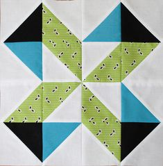 Lucky Pieces block--play-crafts. Tutorial from http://www.freshlemonsquilts.com/?p=1204