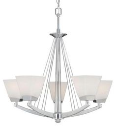 Vaxcel USA KDCHU005CH Kendall 5 Light Contemporary Chandelier Lighting Fixture in Chrome, Glass by Vaxcel, http://www.amazon.com/dp/B003O2FMX6/ref=cm_sw_r_pi_dp_a4dpqb1PXAYGK