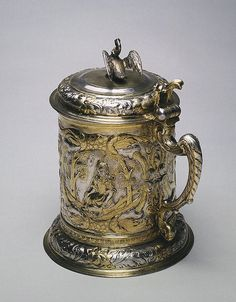 1670s-1680s Polish Tankard at the State Hermitage Museum, St. Petersburg - Found via OMG that Artifact!