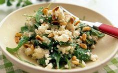 Pinaattirisotto / Spinach risotto