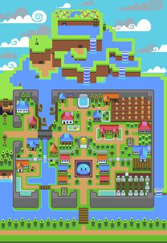 Slime Town 2 by Axze