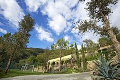 Private villa in Tuscany. The charm of the natural garden. A celebration of the Mediterranean greenery.