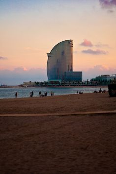 Barcelonas beach-- #