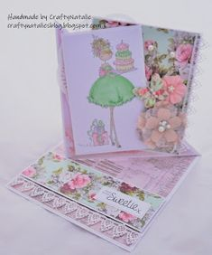 Hello, Today I have a card to share featuring a stamping bella image. I created a twisted easel using the pretty misty rose paper. September 16, July 17, The 5th Of November, Fox Images, Easel Cards, Crazy Colour, Girl Birthday, Stamping, Blog