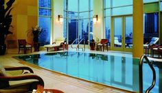 The Huntington Hotel: Indulge in the best 360-degree views of San Francisco from the tranquil swimming pool.