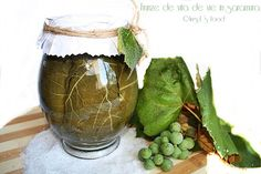 Angel's food: Frunze de vita de vie in saramura Pots, Romanian Food, Pickles, Cabbage, Coconut, Cooking Recipes, Vegetables, Girls Bedroom, Google