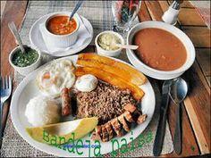 Recetas de Cocina Colombia Turistica: Bandeja paisa