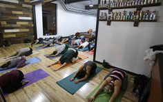 Call it detox and retox: Around the country, yogis are jumping up from savasana and hopping onto a barstool as yoga classes are making their way into breweries.