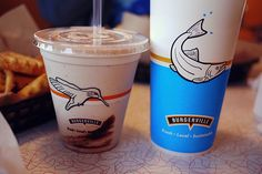 One of the loveliest things about Burgerville is how they tell their story in-store and on-pack. Oh, and the shakes are lovely too.