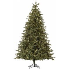 Vickerman Elk Frasier Fir Pre-lit Christmas Tree with Metal Stand - A144181