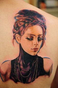 If you're going to get a portrait, this is so good. It actually could be a cameo tattoo, which is something I want.