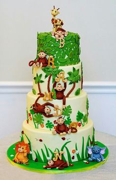 jungle theme birthday or baby shower