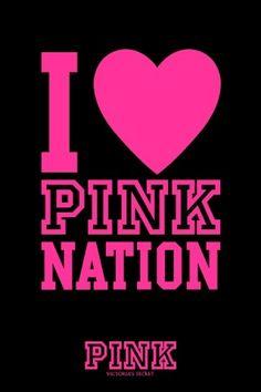 I Lt 3 Pink Nation Vtlovesvspink Pinknation Vs Wallpaper