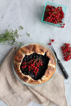Celebrating Summer with Mini Mixed Berry Galettes - Hip Foodie Mom