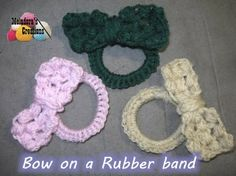 Crochet Hair Rubber Band : ... Crochet on Pinterest Crochet Projects, Afghans and Free Crochet