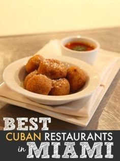 Cuban cuisine is a blending of creole and spanish influence, leading to one of the best types of food in this side of the globe. The people in this neighborhood are proud to provide food that is not only soul-satisfying, but food that also offer familial...
