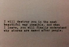 she a storm quotes - Google Search