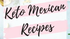 Best Keto Casserole Recipes For Easy Dinners. Try these Stupid Simple Keto Friendly Casseroles For Quick & Cheap Keto Dinners Your Whole Family Will LOVE. Including Keto Chicken Casserole, Ground Beef Casserole, Vegetarian Keto Casserole and More! Low Carb Mexican Food, Vegetarian Mexican, Mexican Food Recipes, Dinner Recipes, Keto Recipes, Party Recipes, Mexican Desserts, Freezer Recipes, Freezer Cooking