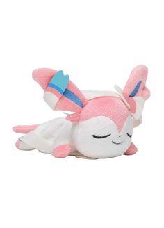 Pokemon Center Original Sylveon Plush Doll Mascot Kuttari Sleep Ver Stuffed toy