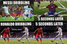 Some soccer memes are too funny not to share. Because some soccer memes hit home. They understand a culture and struggle that is faced in the game that those who dont love soccer wont understand. So here are some of my favorite soccer memes. 12 t Messi Neymar Suarez, Messi Vs, Messi Soccer, Messi And Ronaldo, Football Soccer, Nike Soccer, Soccer Cleats, Funny Football Memes, Soccer Jokes