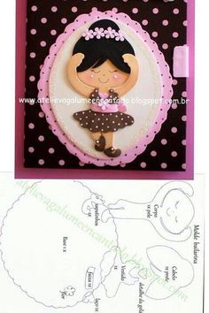 Kids Crafts, Foam Crafts, Diy And Crafts, Paper Crafts, Paper Piecing Patterns, Felt Patterns, Felt Dolls, Paper Dolls, Sewing Projects