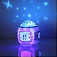 BRELONG 1 pc 8-color Human Motion Sensor PIR Toilet Night Light 2020 - US $6.49 Starry Night Light, Night Sky Stars, Led Night Light, Star Night, Projection Alarm Clock, Led Alarm Clock, Digital Alarm Clock, Baby Night Light Projector, Yurts