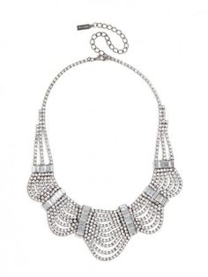 this femme necklace is inimitably classic vintage glam