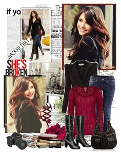 """Elena Gilbert new style"" by mery90 ❤ liked on Polyvore"