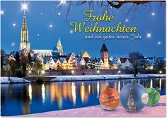 Weihnachtskarte Ulm Nr. 502