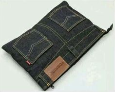 Jeans laptop sleeve